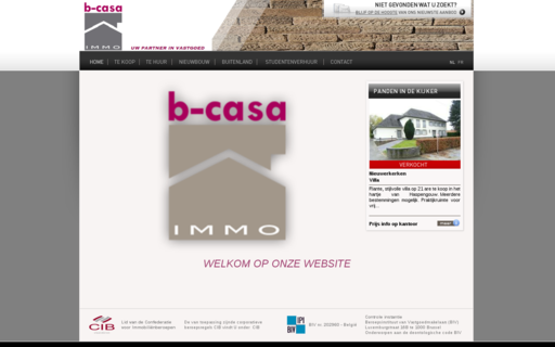 Access b-casa-immo.be using Hola Unblocker web proxy