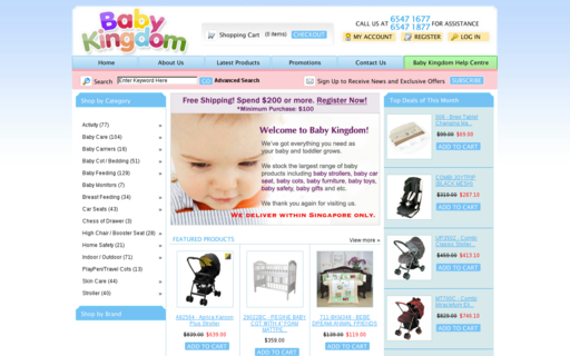 Access babykingdom.com.sg using Hola Unblocker web proxy