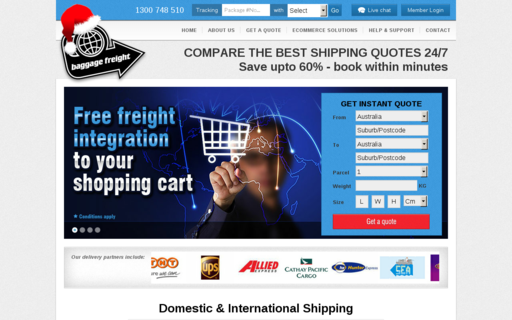 Access baggagefreight.com.au using Hola Unblocker web proxy