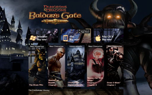 Access baldursgate.com using Hola Unblocker web proxy