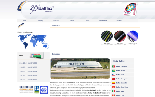 Access balflex.com using Hola Unblocker web proxy
