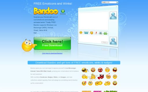 Access bandoo.com using Hola Unblocker web proxy