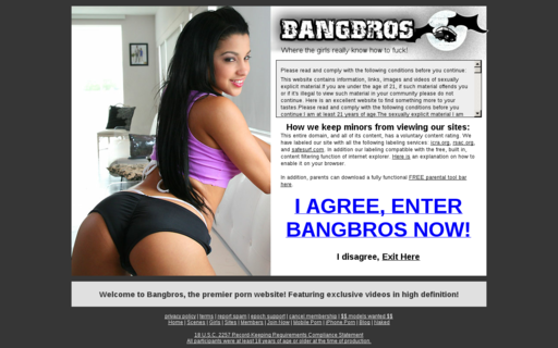 Access bangbros.com using Hola Unblocker web proxy