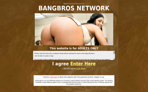 Access bangbrosnetwork.com using Hola Unblocker web proxy