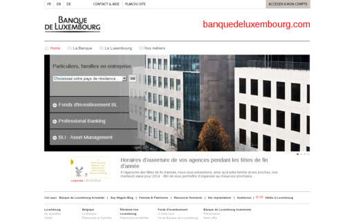 Access banquedeluxembourg.com using Hola Unblocker web proxy