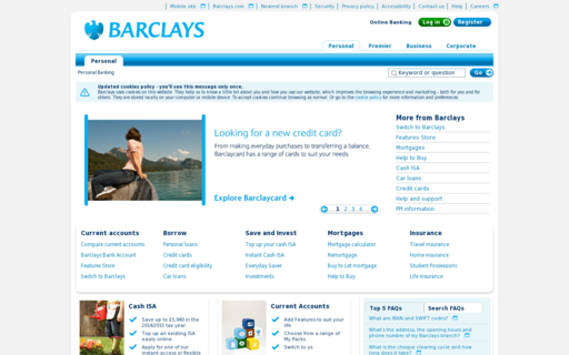 Access barclays.co.uk using Hola Unblocker web proxy