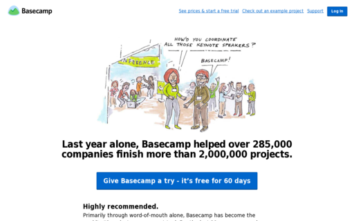 Access basecamphq.com using Hola Unblocker web proxy