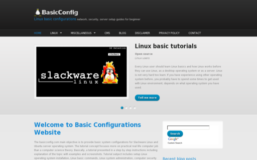 Access basicconfig.com using Hola Unblocker web proxy