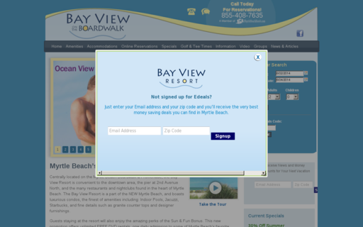 Access bayviewresort.com using Hola Unblocker web proxy