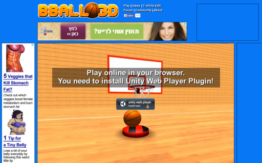 Access bball3d.com using Hola Unblocker web proxy