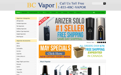 Access bcvapor.ca using Hola Unblocker web proxy