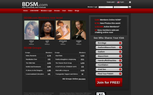 Access bdsm.com using Hola Unblocker web proxy