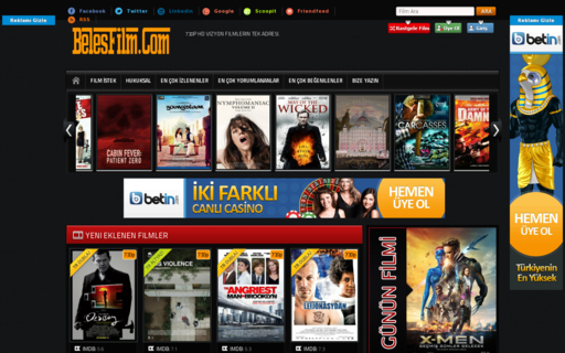 Access belesfilm.com using Hola Unblocker web proxy