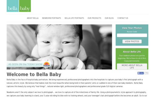 Access bellababyphotography.com using Hola Unblocker web proxy