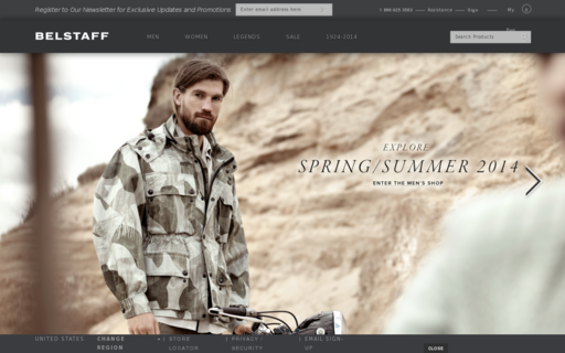 Access belstaff.co.uk using Hola Unblocker web proxy