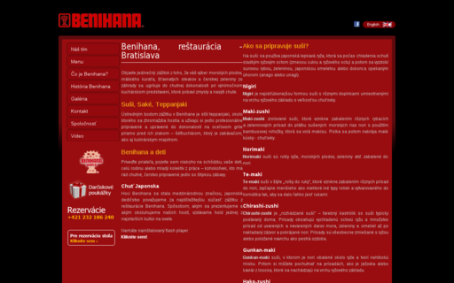 Access benihana.sk using Hola Unblocker web proxy