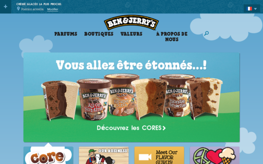 Access benjerry.fr using Hola Unblocker web proxy