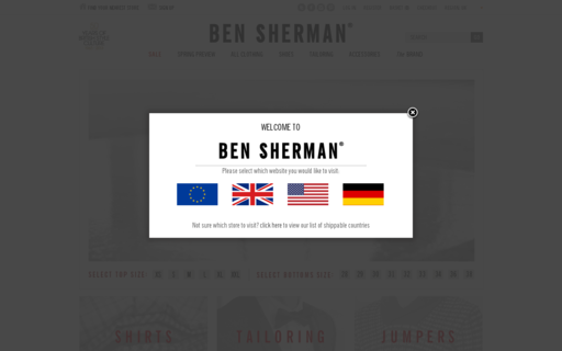Access bensherman.com using Hola Unblocker web proxy