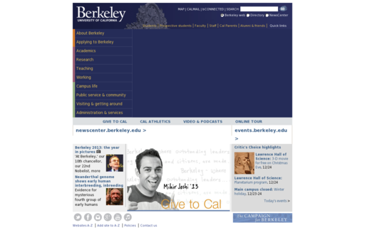 Access berkeley.edu using Hola Unblocker web proxy