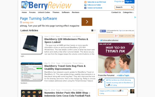 Access berryreview.com using Hola Unblocker web proxy