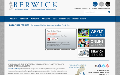 Access berwickacademy.org using Hola Unblocker web proxy