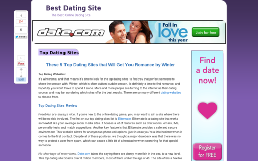 Access best-dating-site.org using Hola Unblocker web proxy