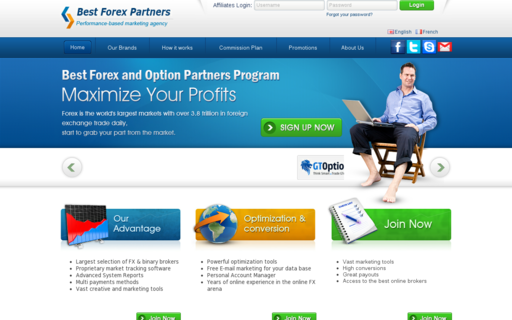 Access bestforexpartners.com using Hola Unblocker web proxy