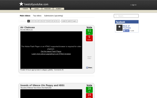Access bestofyoutube.com using Hola Unblocker web proxy