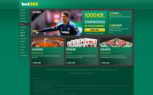 Access bet365.dk using Hola Unblocker web proxy