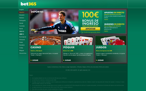 Access bet365.es using Hola Unblocker web proxy