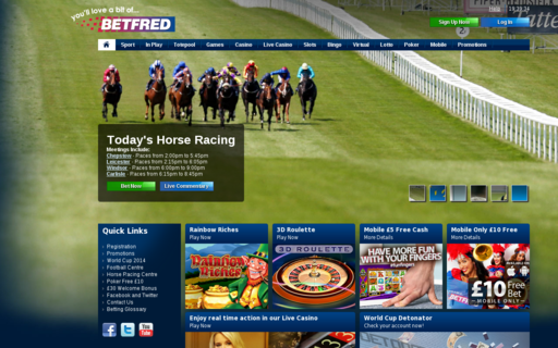 Access betfred.com using Hola Unblocker web proxy