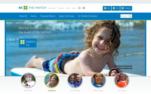Access bethematch.org using Hola Unblocker web proxy