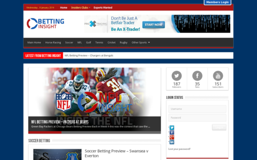 Access betting-insight.com using Hola Unblocker web proxy