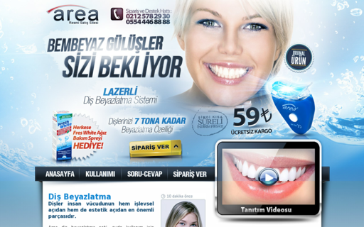 Access beyazlatdislerini.com using Hola Unblocker web proxy