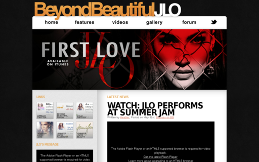 Access beyondbeautifuljlo.com using Hola Unblocker web proxy