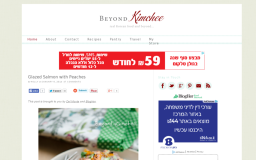 Access beyondkimchee.com using Hola Unblocker web proxy