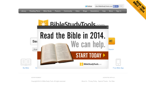 Access biblestudytools.com using Hola Unblocker web proxy