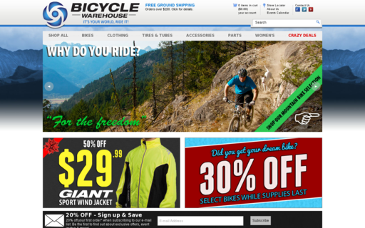 Access bicyclewarehouse.com using Hola Unblocker web proxy