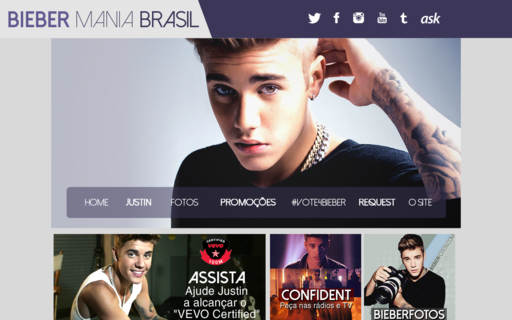 Access biebermania.com.br using Hola Unblocker web proxy
