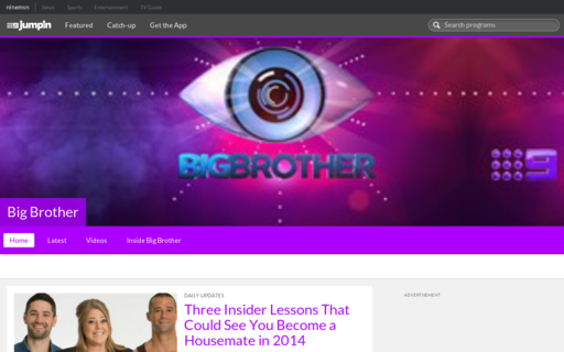 Access bigbrother.com.au using Hola Unblocker web proxy