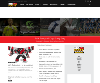 Access bigfooty.com using Hola Unblocker web proxy