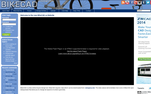 Access bikecad.ca using Hola Unblocker web proxy