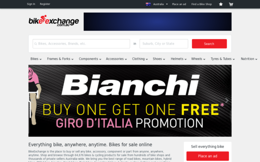 Access bikeexchange.com.au using Hola Unblocker web proxy