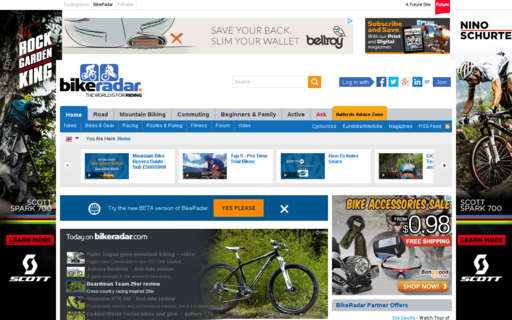 Access bikeradar.com using Hola Unblocker web proxy