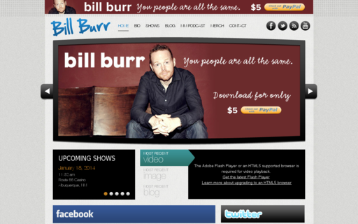 Access billburr.com using Hola Unblocker web proxy