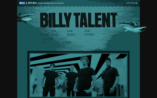 Access billytalent.com using Hola Unblocker web proxy