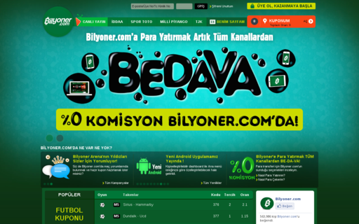 Access bilyoner.com using Hola Unblocker web proxy