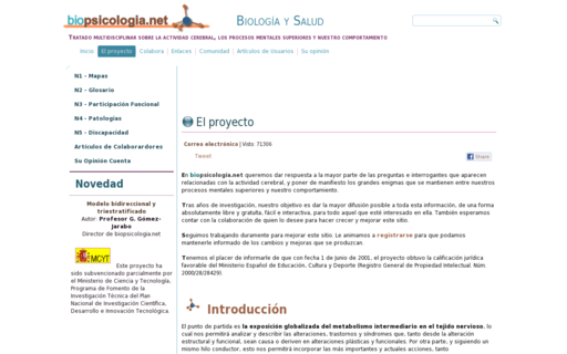 Access biopsicologia.net using Hola Unblocker web proxy