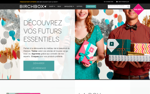 Access birchbox.fr using Hola Unblocker web proxy