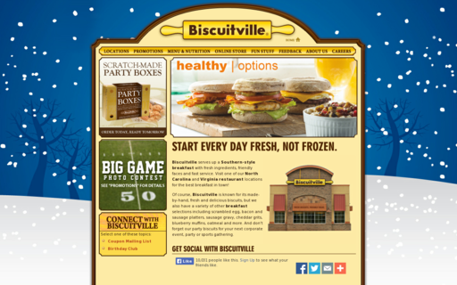 Access biscuitville.com using Hola Unblocker web proxy